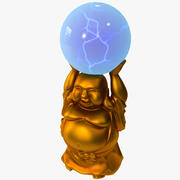 Lumisource Buddha Electra Lamp 3d model
