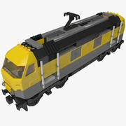 Lego Train 3d model