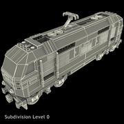 레고 열차 3d model