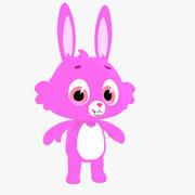Toon Bun Bunny 3d model