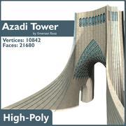 Azadi Tower 3d model