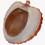 Lychee Fruit 3d model