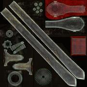 Khanda Sword 3d model