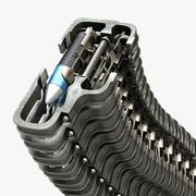 M230 Bullet Chain 3d model