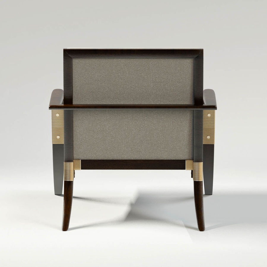 ATHENS LOUNGE CHAIR - TUFTED royalty-free 3d model - Preview no. 5
