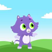 Toon Katie Cat 3d model
