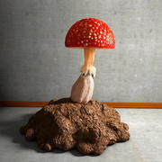 Mushroom Collection 3 Mushrooms 3d model