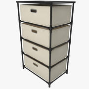 Drawer Canvas Storage 3d model
