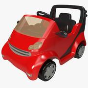 Pedal Car 3 3d model