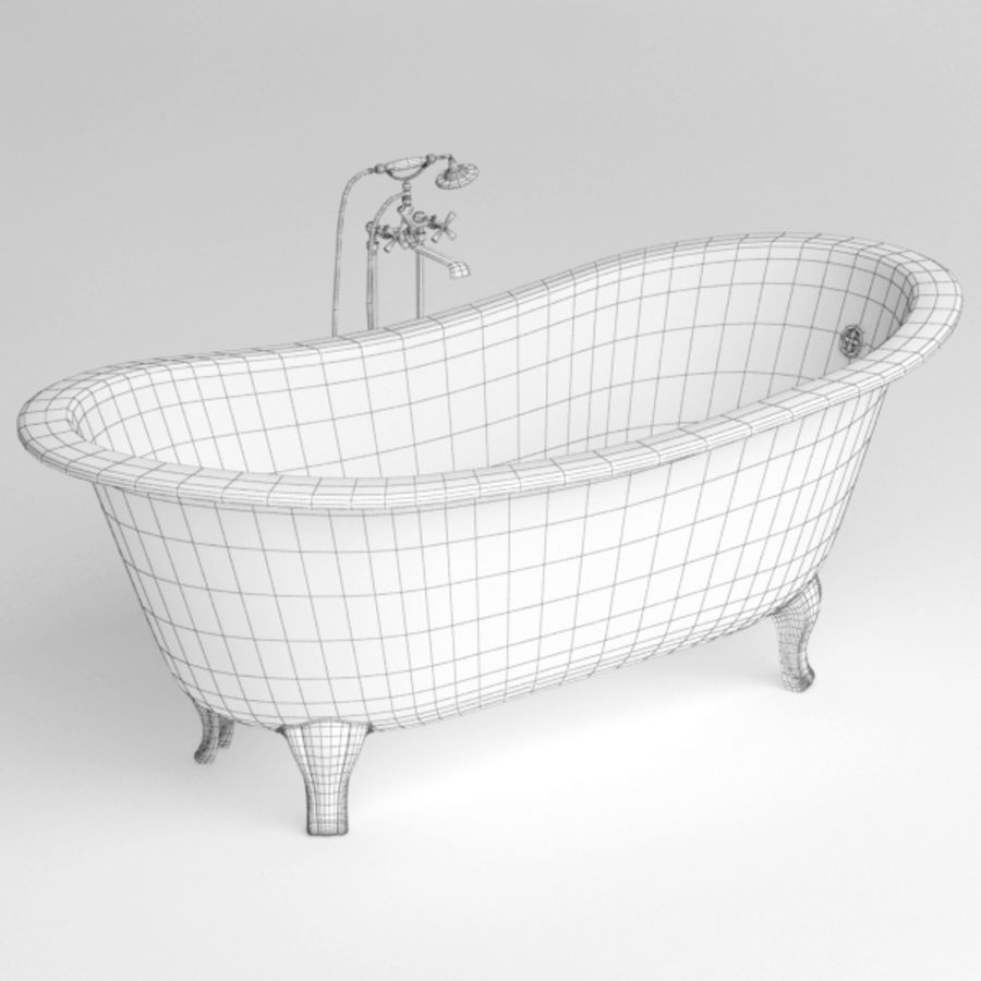 Bath royalty-free 3d model - Preview no. 8