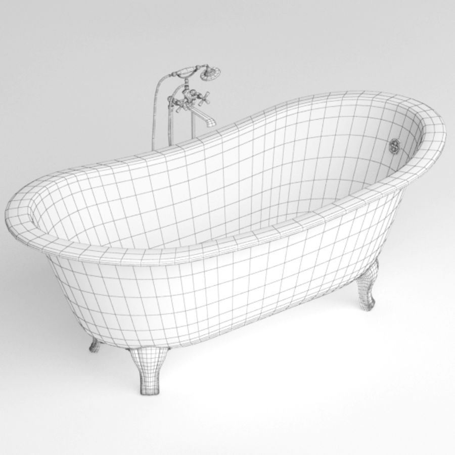 Bath royalty-free 3d model - Preview no. 9