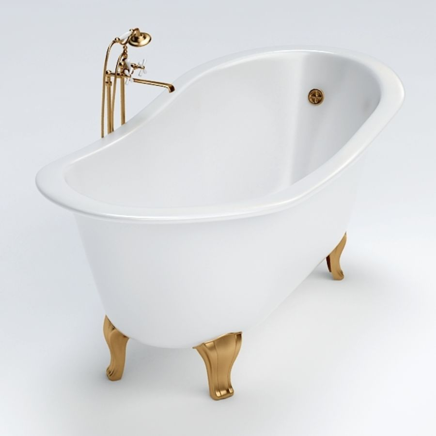 Bath royalty-free 3d model - Preview no. 6