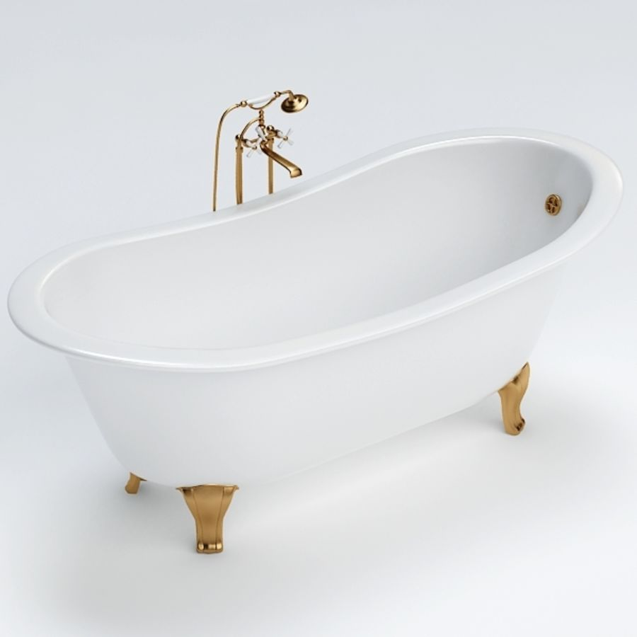 Bath royalty-free 3d model - Preview no. 4