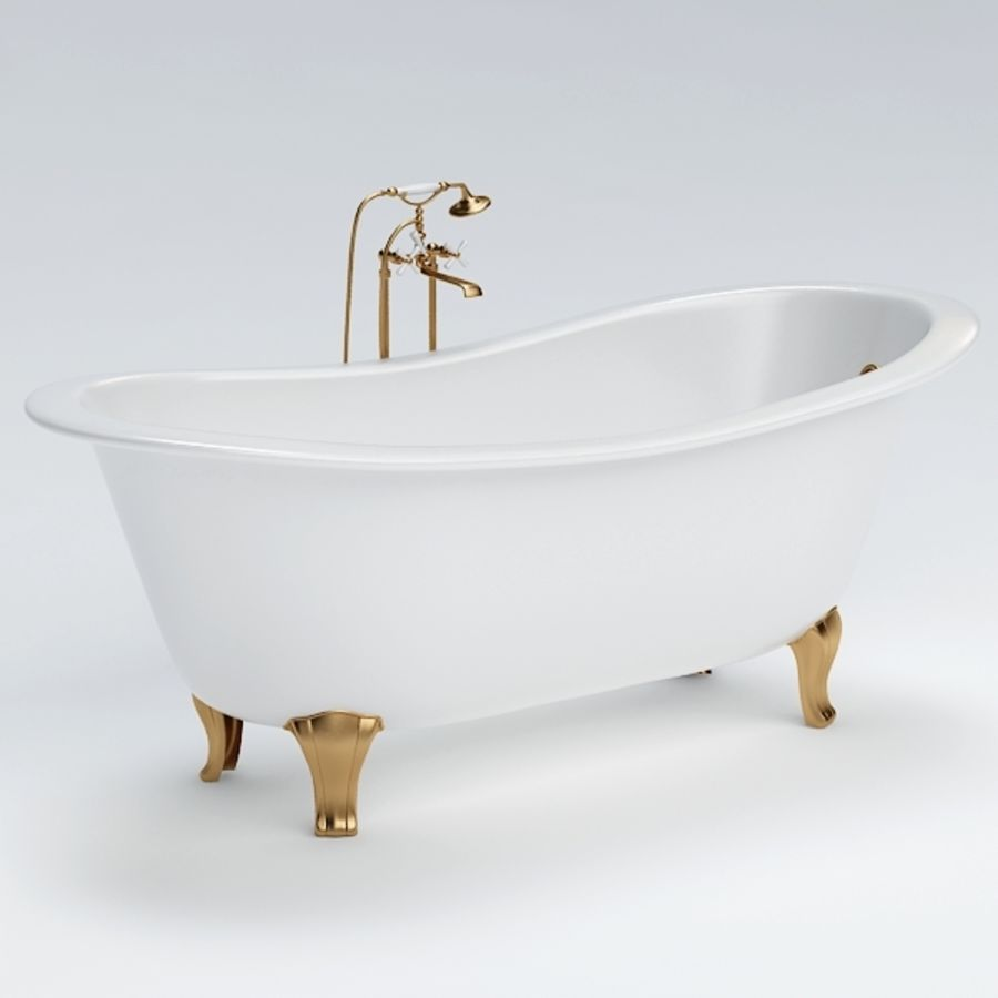 Bath royalty-free 3d model - Preview no. 2