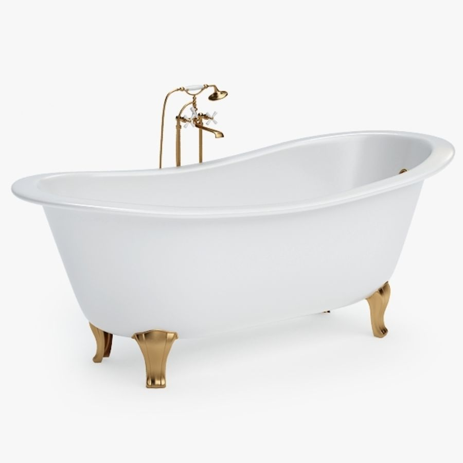 Bath royalty-free 3d model - Preview no. 1
