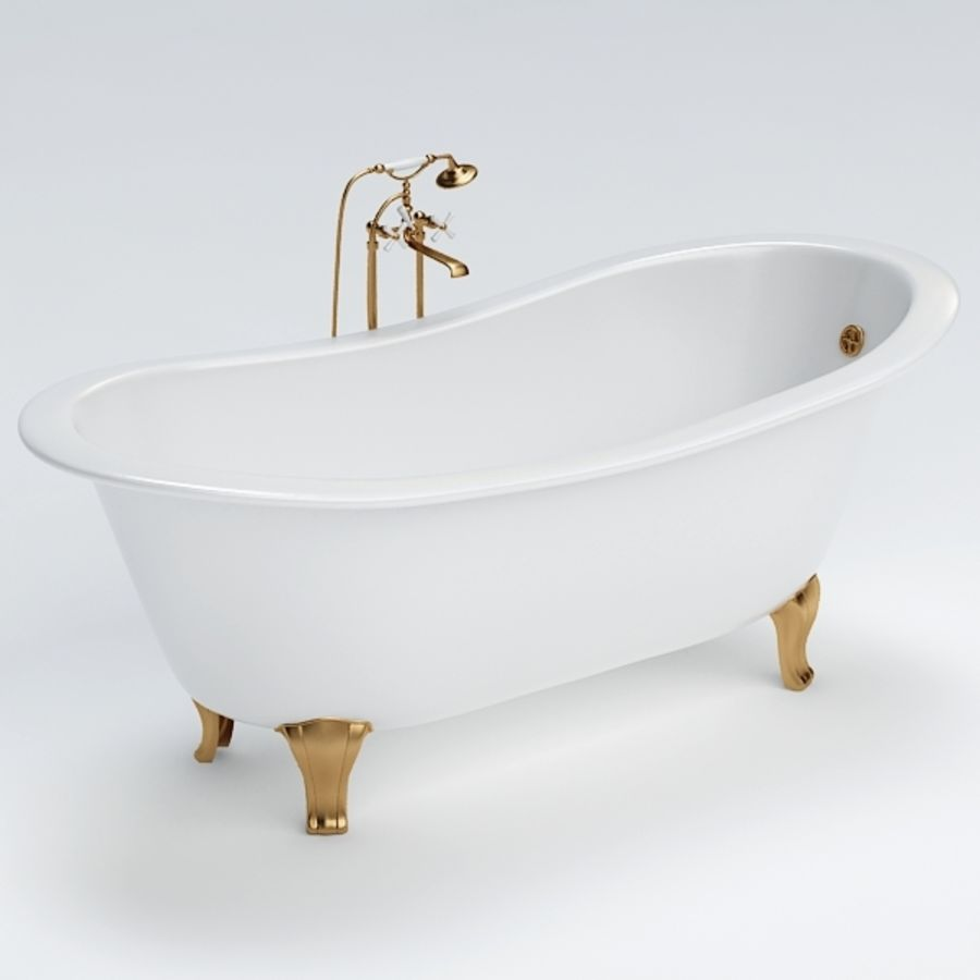 Bath royalty-free 3d model - Preview no. 3