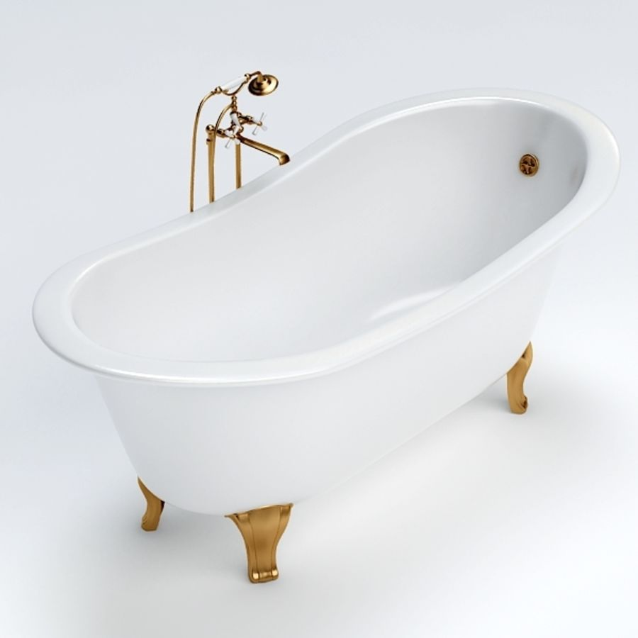 Bath royalty-free 3d model - Preview no. 5