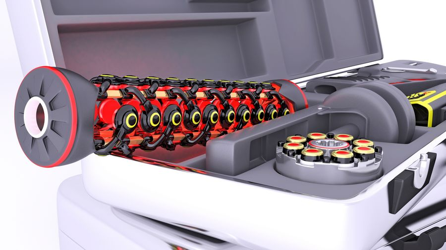 Big Gan royalty-free modelo 3d - Preview no. 9