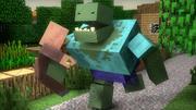 Mutant Zombie 3d model