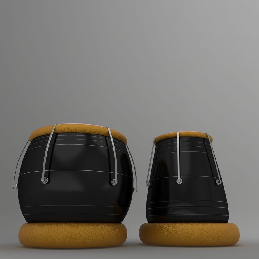 Tabla royalty-free 3d model - Preview no. 2