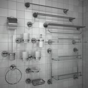 Banyo Aksesuarları seti 1 3d model