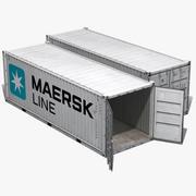货运集装箱 3d model