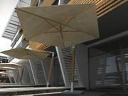 傘3D 3d model