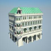 Corner House II 3d model