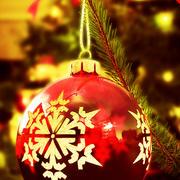 Weihnachten Schneeflocke Spielzeug 3d model