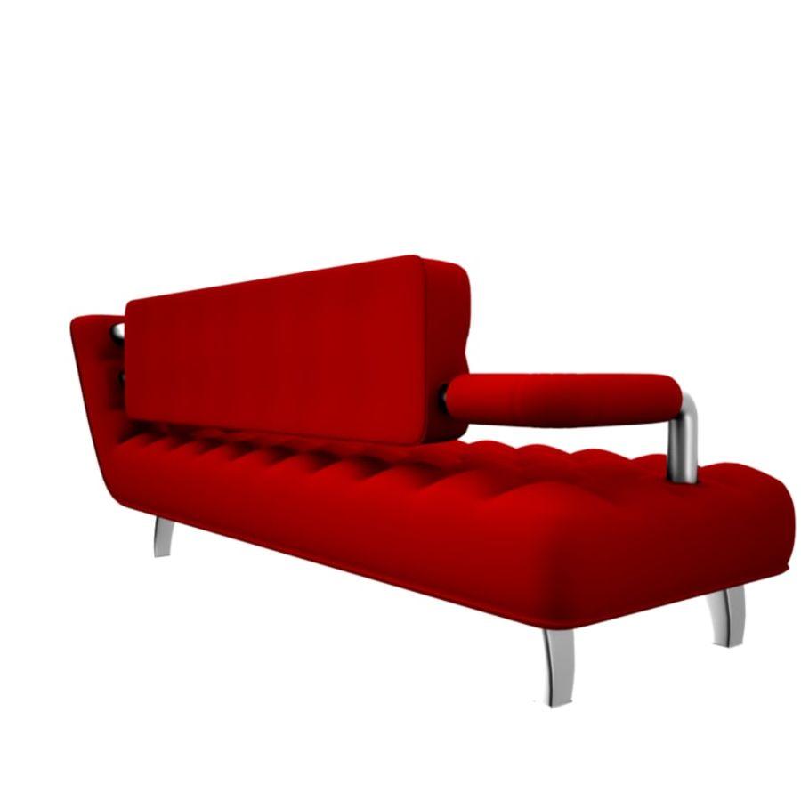 valentin soffa royalty-free 3d model - Preview no. 4