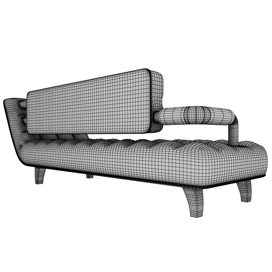 valentin soffa royalty-free 3d model - Preview no. 8