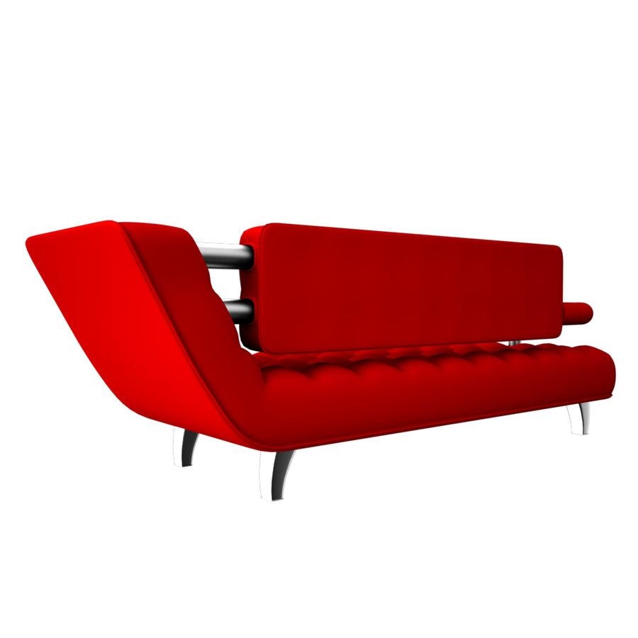 valentin soffa royalty-free 3d model - Preview no. 3