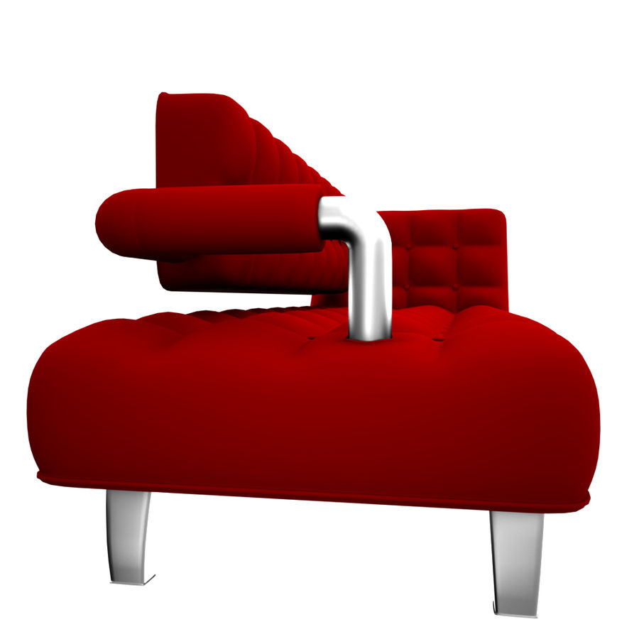 valentin soffa royalty-free 3d model - Preview no. 5