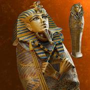 Sarcophagus of Tutankhamun 3d model