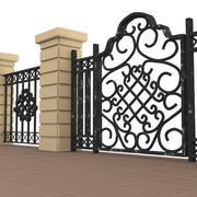 portão 5 3d model
