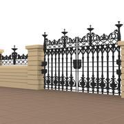 portão 6 3d model