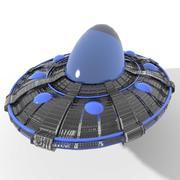 UFO 3 3d model