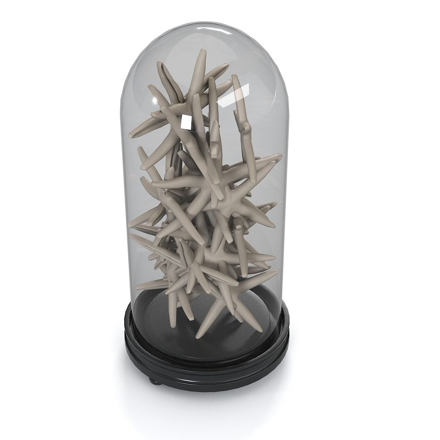 Sea Star Decoration royalty-free 3d model - Preview no. 3