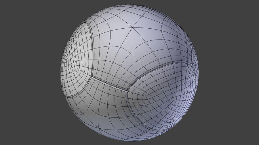 Soccer Balls royalty-free 3d model - Preview no. 5