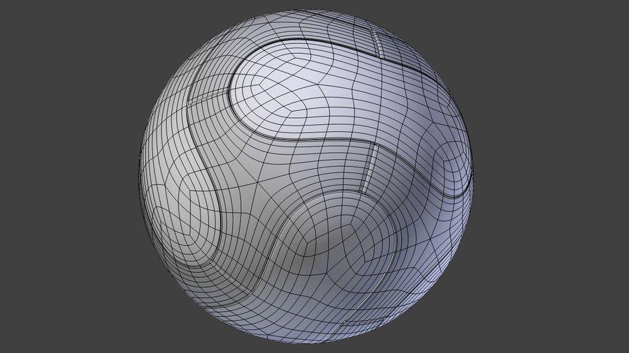 Soccer Balls royalty-free 3d model - Preview no. 3