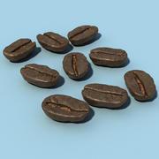 咖啡豆 3d model