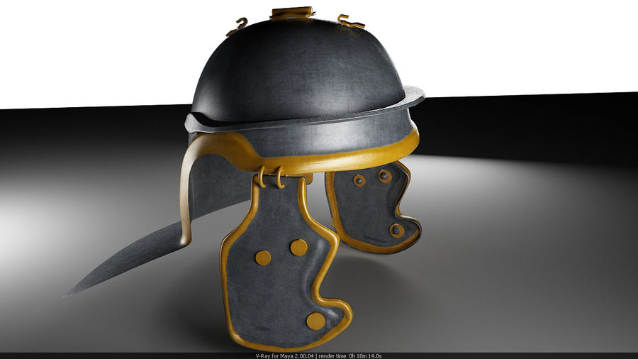 Helmat royalty-free 3d model - Preview no. 1