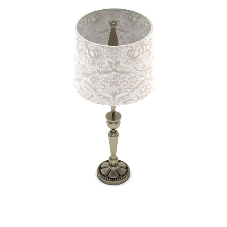 Table Lamp 3 royalty-free 3d model - Preview no. 4