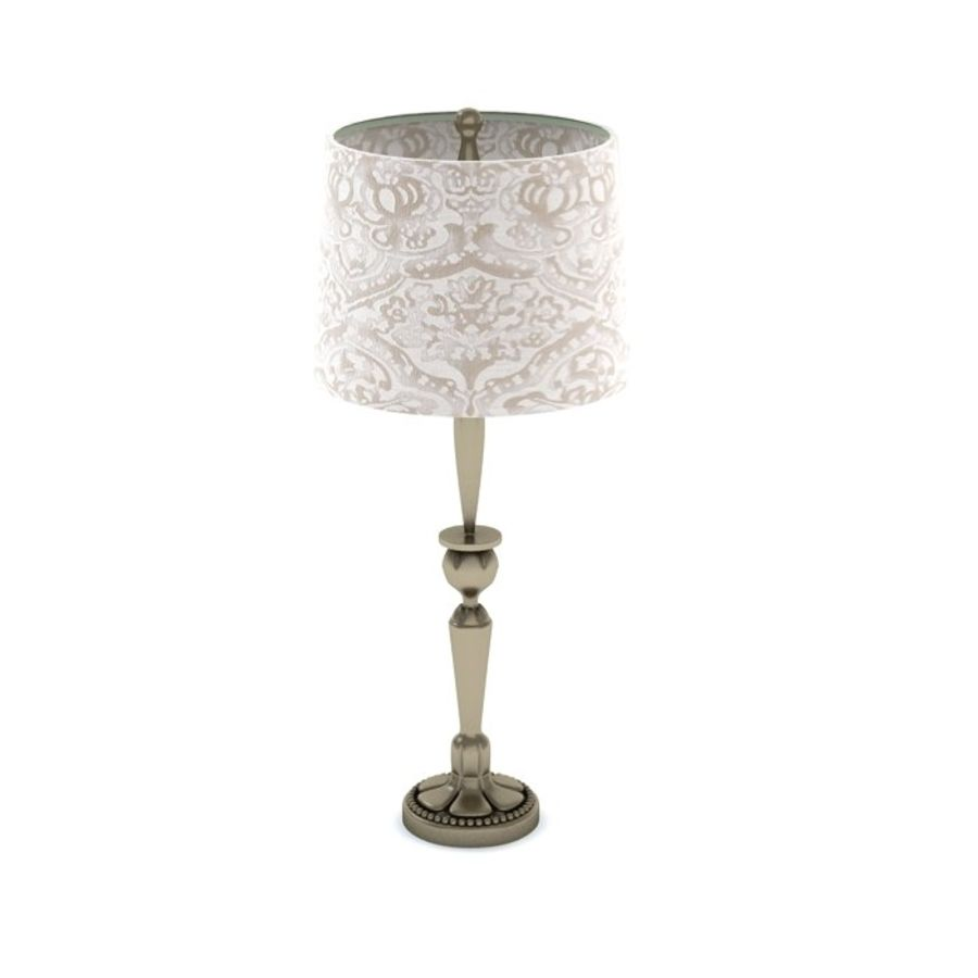 Table Lamp 3 royalty-free 3d model - Preview no. 3