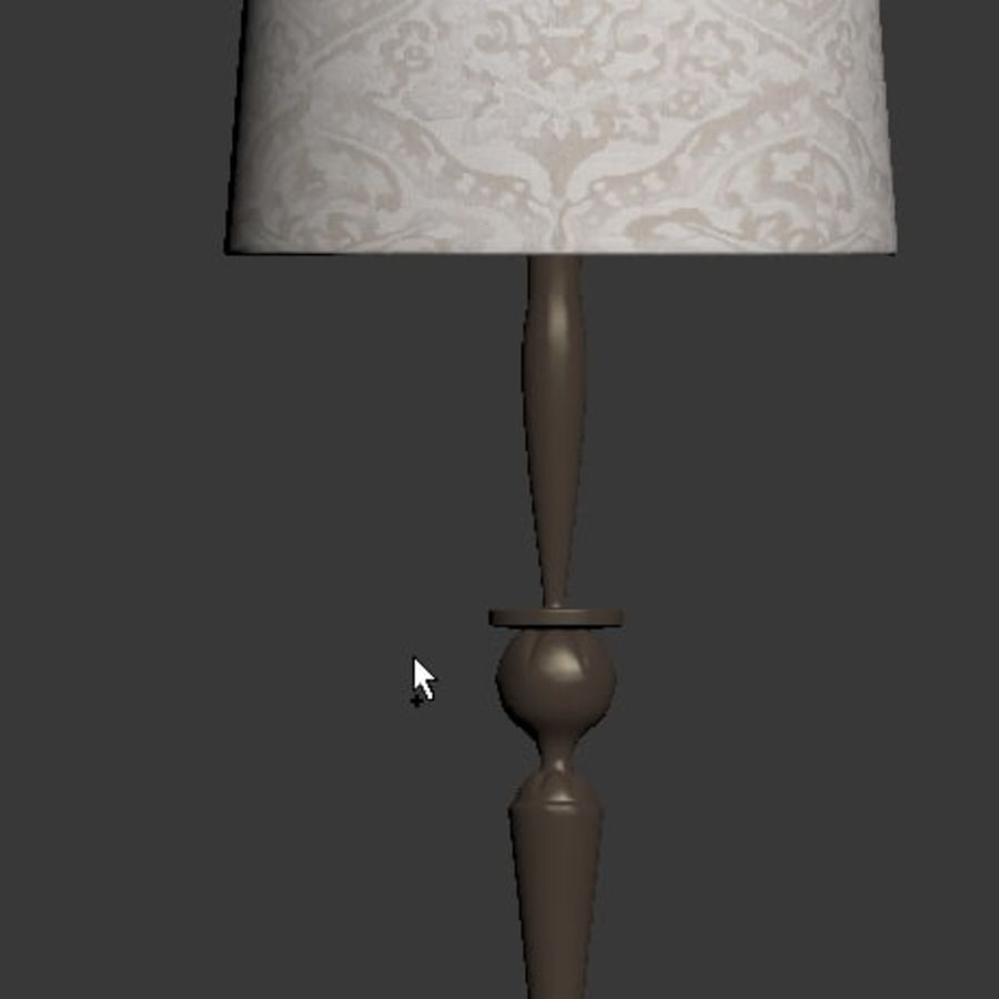 Table Lamp 3 royalty-free 3d model - Preview no. 7