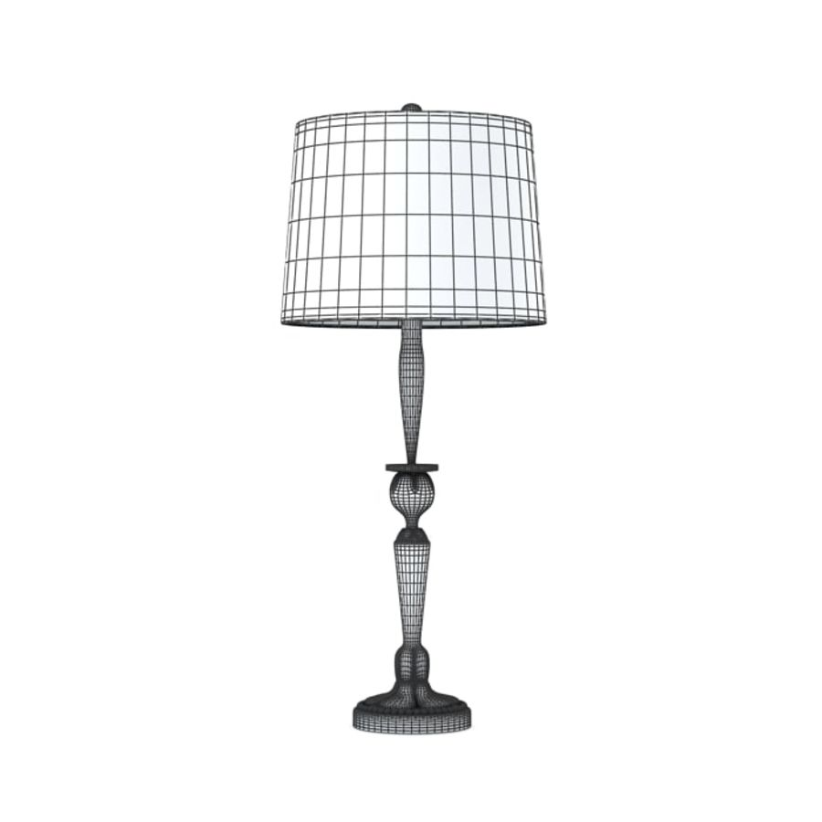 Table Lamp 3 royalty-free 3d model - Preview no. 2