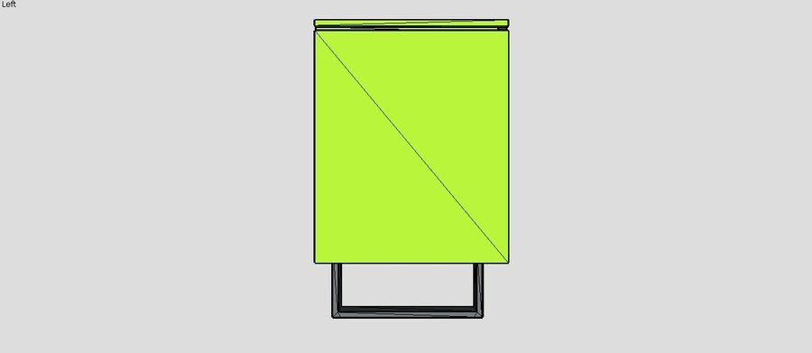 Gabinete de diseño (1) royalty-free modelo 3d - Preview no. 5