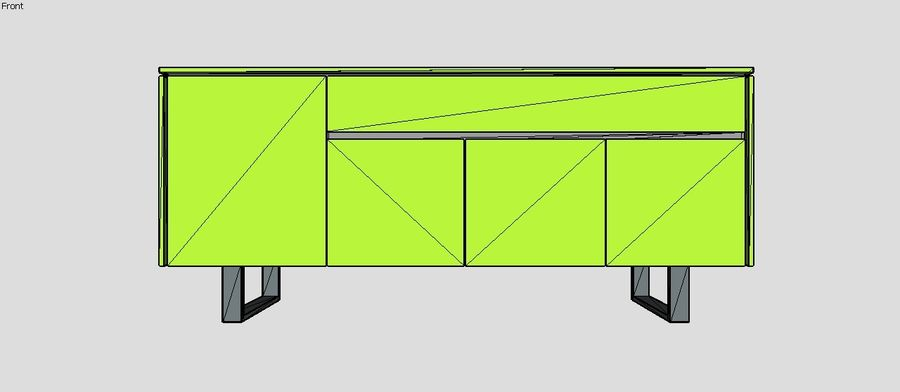 Gabinete de diseño (1) royalty-free modelo 3d - Preview no. 4