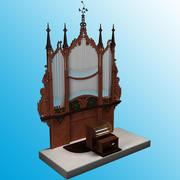 Organ-instrument 3d model