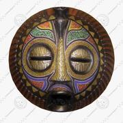 FG Afro Mask3 3d model